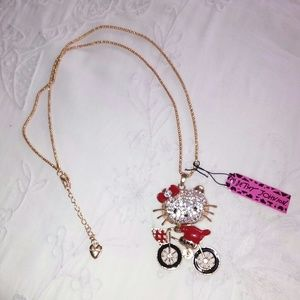 Hello Kitty Betsey Johnson necklace